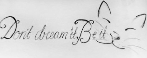 This is the tattoo I'm getting in memory of my baby boy. My friend Maddi sketched it up for me a few days after he passed away last year. This tattoo basically shows the two things that helped me get by when I was suicidal, The Rocky Horror Picture Show and my baby boy. 18th Birthday you really need to come sooner or PARENTS you need to let me get it *sighs* RIP 2.14.08-12.31.10