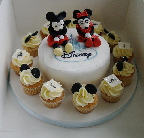 delectable-disney:  Disney 18th Birthday Cake (by There for the Baking)