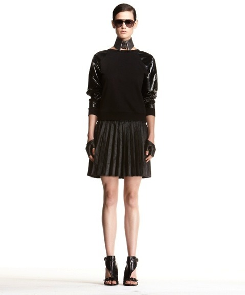 glamour:  A cute 'n' sporty look from the new 'KARL' line by Karl Lagerfeld, launching on January 25th. Photo: Courtesy of Net-a-Porter
