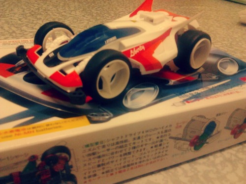 I bought this yesterday! A classic Tamiya of Liberty Emperor. Remind me of my childhood memory. I play this before Dash Yankuro series aired in Malaysia. I'm 10 and i'm riding my bike 5km to somewhere i'm not familiar just to buy my first Tamiya, Sonic Saber. Then this thing get famous and as i remember i bought almost 10 cars (Tamiya, Audley, Diamond). Damn. And i wonder where the hell are they right now. Couldnt remember at all. My friend Jamal, encourage me to bought this. He already bought Shooting Star. Also i found out that Tamiya is no longer a stable company. There's only one store in One Utama. Damn. If any of you guys out there know where i can find Tamiya spare parts shop besides in One Utama, hit me up!