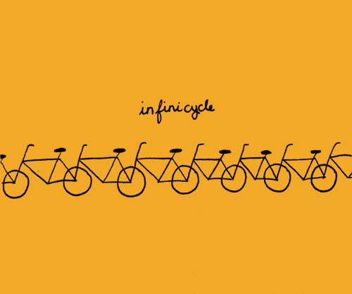 Infinicycle by thisisjaclyne on Flickr.