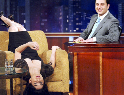 Sarah Silverman and Jimmy Kimmel. (photographer unknown)
