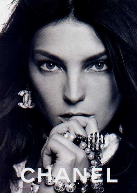 Daria Werbowy for Chanel Campaign 2006