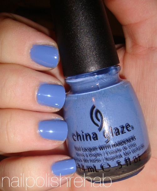 China Glaze - Secret Peri-wink-le Click the photo/link for more pics/review :)