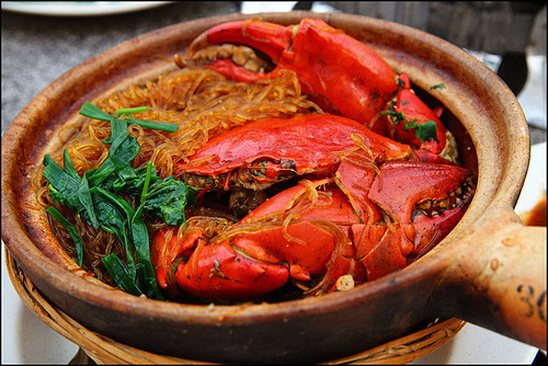 claypot crab vermicelli (by vkeong)