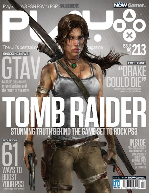 officialtombraiderblog:  Crystal Dynamics is ringing in the New Year with another cover story! Check out Tomb Raider on the January cover of Play.