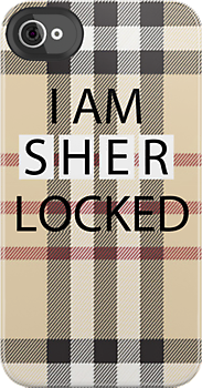"(via ""SHERLOCKED"" Deer Hunter - iPhone & iPod Cases)"