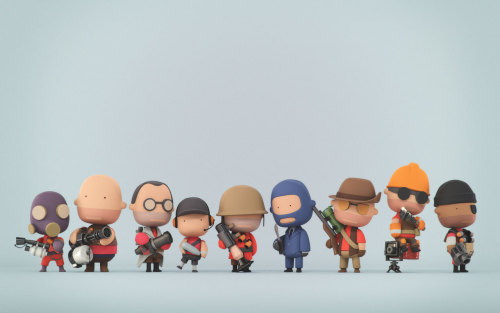 Willem-paul van Overbruggen - Tiny Team Fortress 2
