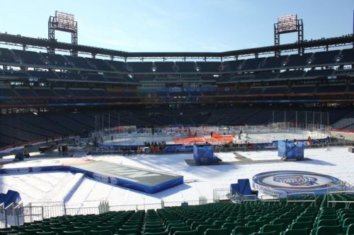 The 2012 Winter Classic with the Rangers vs Flyers gets underway at 3:00 on NBC.