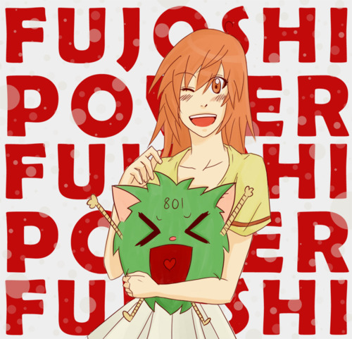 Fujoshi Power by Aidiki-Chan of DeviantArt