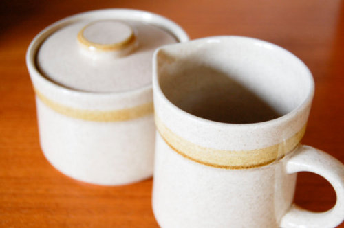 cream & sugar // country living stoneware // $15
