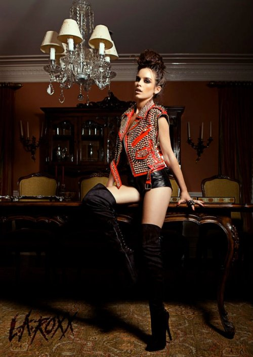 LA Roxx Look Book 2011-Jon Santana Hair-Queens Boone Styling-Xtina Milani Editing-me