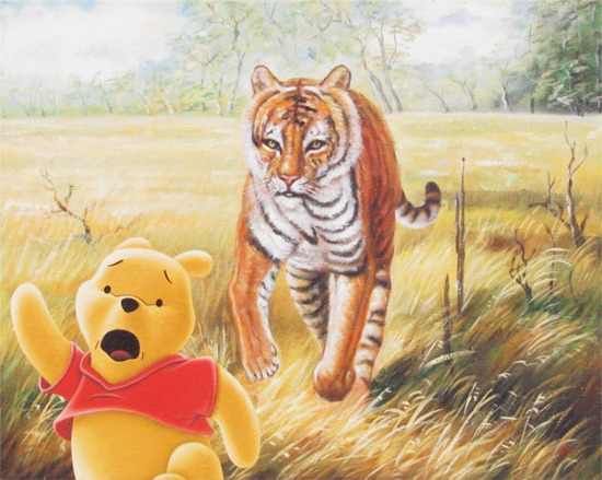 Pooh…and Other Sh*t: Hijacked Art by Robert Brandenburg