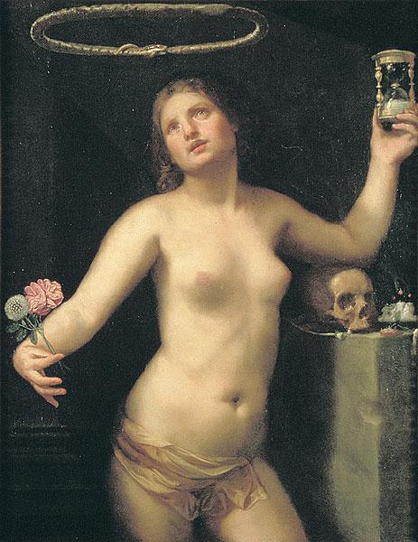 Guido Cagnacci, Allegory of Human Life