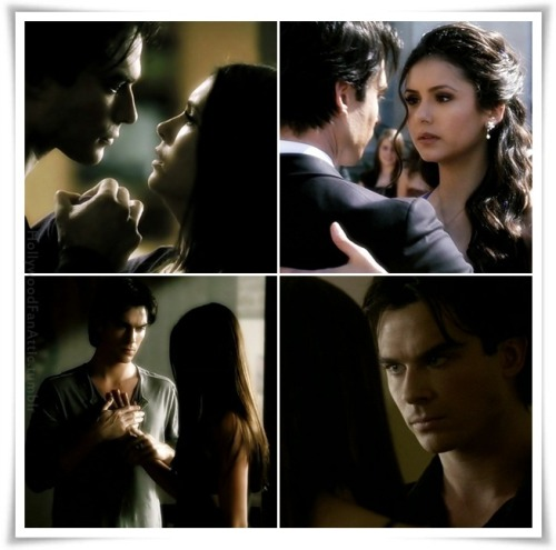 Moments…with Damon and Elena.