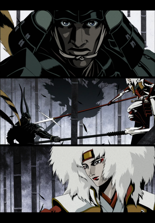 Screenshot-Collage made by www.automatiker.tumblr.com (Animatrix: Program)