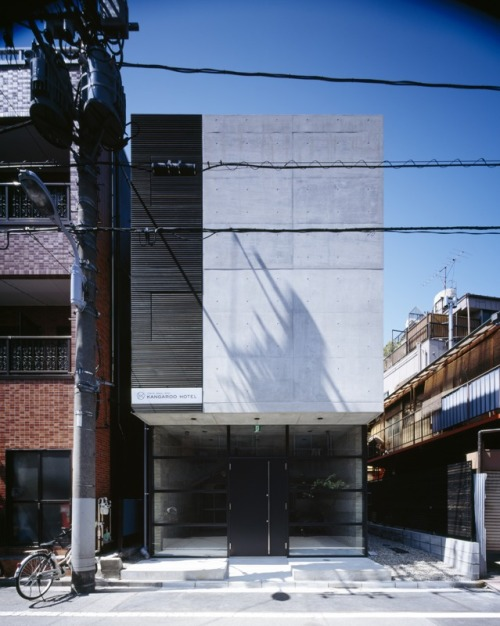 simplypi:  KANGOROO HOTEL, TOKYO APOLLO ARCHITECTS AND ASSOCIATES