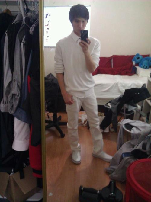 @canporeotics lookin good in white! : )- @imshanelleruiz