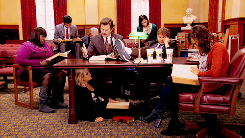 """The Trial of Leslie Knope"" 