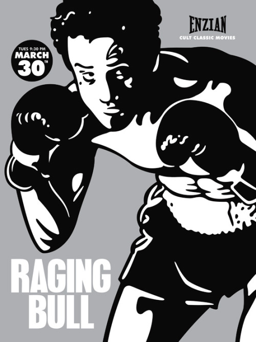 Raging Bull by Billy Davis Generally I don't feel any guilt (anymore ha) for not reading/watching The Greats or The Canon or whatever, but yeah.  I gotta watch me some Raging Bull.  Also it's hilarious that that's Vic Darchinyan's nickname because he is just the tiniest little man~!  :>
