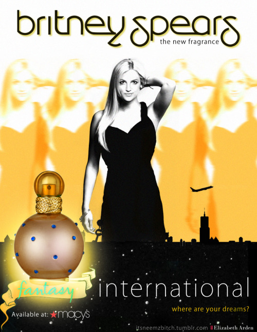 Fantasy - International - The New Fragrance by Britney Spears