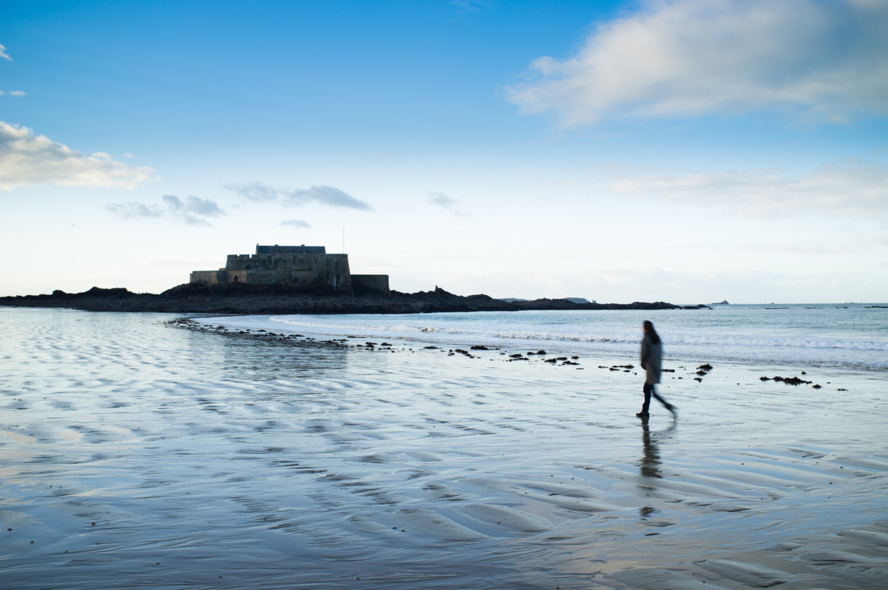 Day #54 - La Plage - St Malo, France
