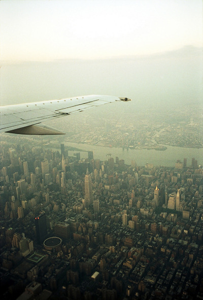 toddjordan:  view from my seat. new york city. may 2004.