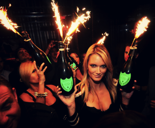 iamhypnotiq:  Pop bottles on three…
