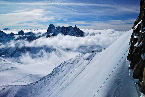 cosmek:  Alps Above the Clouds (by nebulous 1)