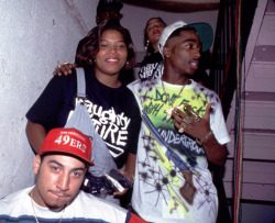 Queen Latifah x Tupac