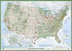 shortformblog:  What makes this U.S. map better than any other U.S. map? Attention to detail. The guy who designed it — a seasoned cartographer named David Imus — spent 6,000 hours of his own time building it. And according to other cartographers, it shows — from the shading to the typography on down. Neat.