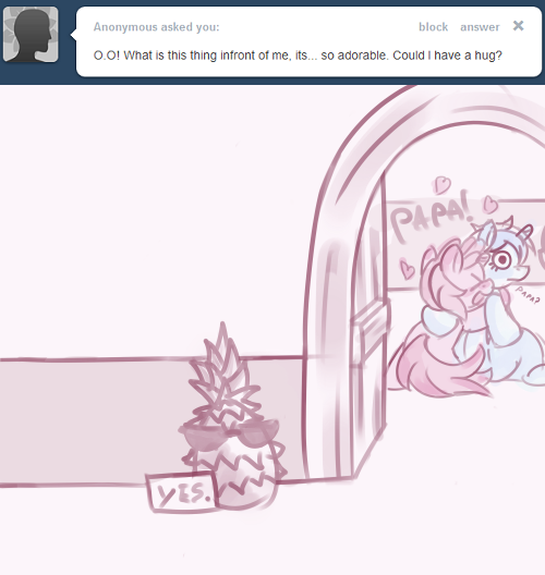 askrubypinch:  Just mind the spikes, bro.  P-Papa…?! o_O