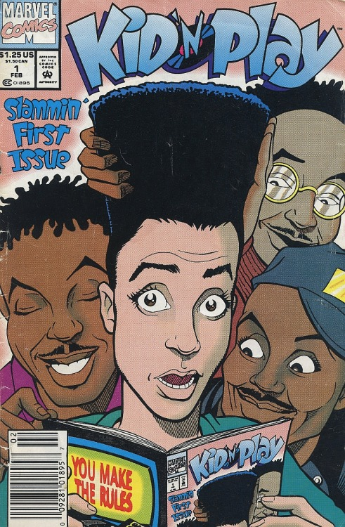Marvel Comics x Kid n' Play
