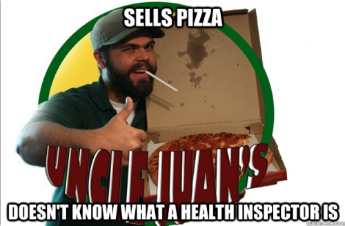 Uncle Juan's Pizza… I could go for some Uncle Juan's