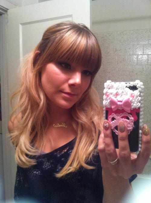 awesome phone case by misskittyxo that I am OBSESSED with!! ♥