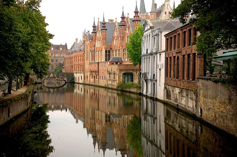 | ♕ |  The City of Reflections - Bruges  | by © Photoguide-Bruges