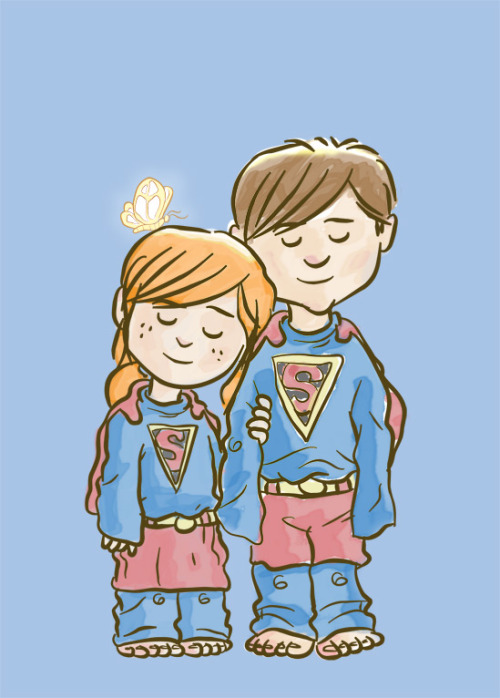 yelyahwilliams:  lulubonanza:  Supergirl by ~skutterfly  me and chad in my most perfect dreams.