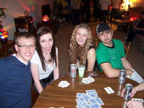 Tommy, Laura, myself, and Kyle. Always a good time with these kids and I'm glad I spent the end of the year with them.