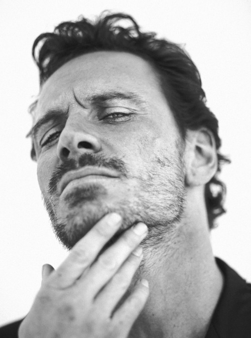 Michael Fassbender by Nabil for L'Uomo Vogue 2009