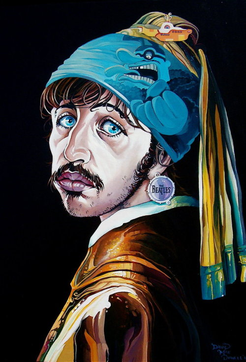shoebian:  Ringoism by *davidmacdowell   The Boy with the Blue Meanies