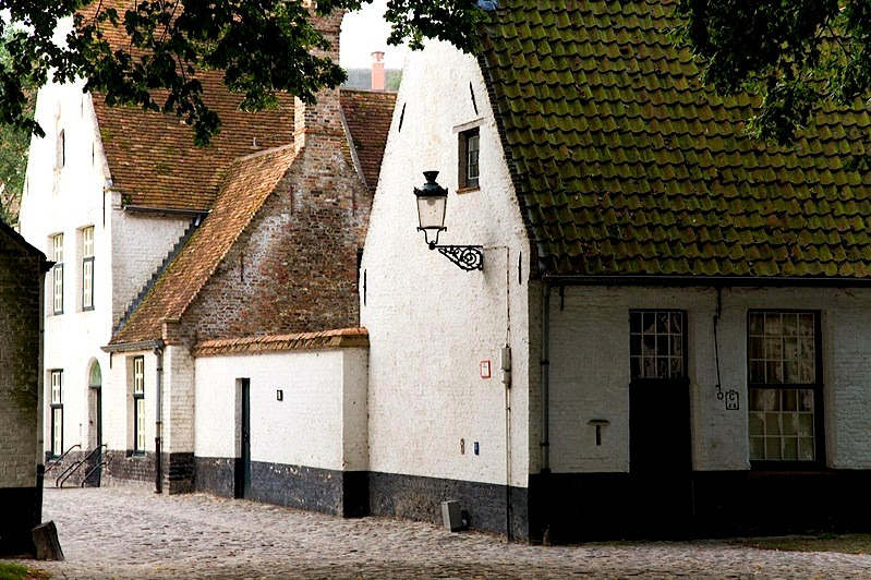 | ♕ |  The old houses of Beguinage  | by © Photoguide-Bruges