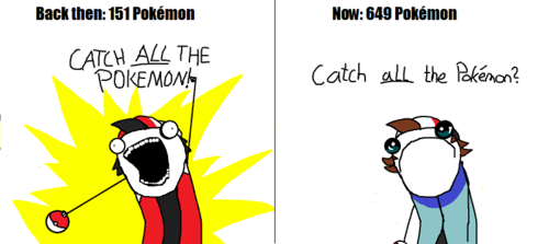 Catch ALL the Pokemon! …oh wait…