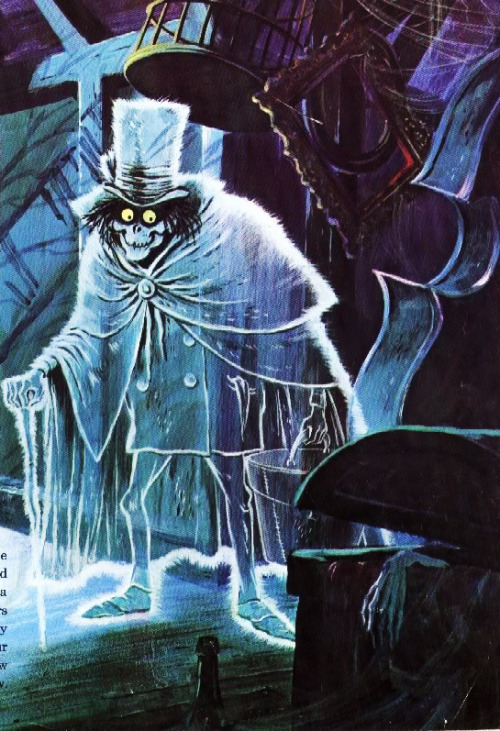 The Hatbox Ghost from The Haunted Mansion by Collin Campbell