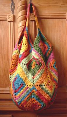 pattern: DIY crochet bag via Stricksucht