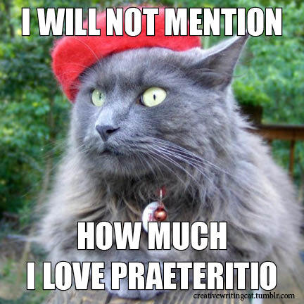 How much I love praeteritio.