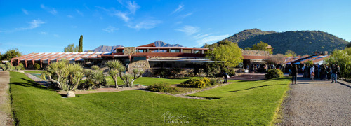 #Taliesin Tuesday!  Frank Lloyd Wright's Taliesin West (1937), Scottsdale, Arizona