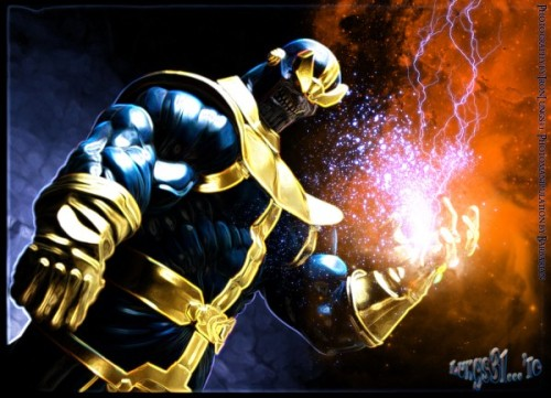No one ever talks about Thanos  He's so badass:  Thanos proved to be too powerful. He could even kill a Celestial with but a glance! Thanos decided that the true sign of his ultimate power would be to destroy the universe and become the one true supreme being. However, after doing so, he realized that this role was ultimately hollow, fulfilling and empty, not to mention unnatural. He subsequently undid the destruction of the universe and obliterated the Heart from existence. Thus, not only did he strip himself of power, but he made the entire series of events null and void.