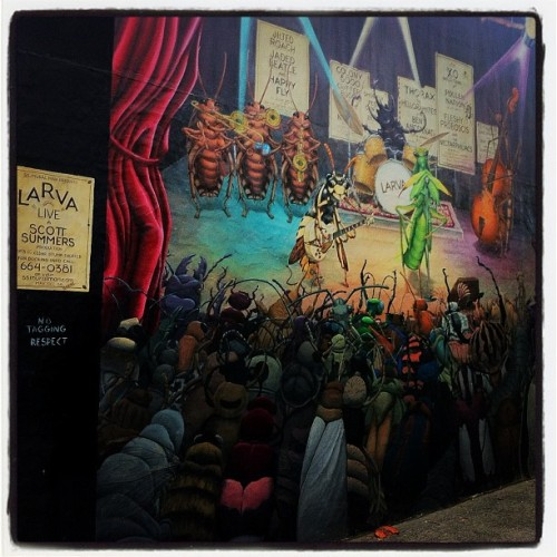 Day 2: Hidden art in Roosevelt  (Taken with Instagram at The Trading Musician)