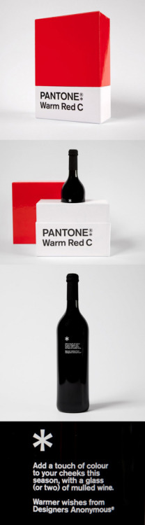 Designers Anonymous created The Warm Red Pantone. Please everyone, keep doing pantone stuff!