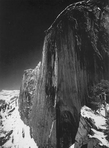 Ansel Adams, Monolith, the Face of Half Dome. Yosemite Valley, CA, USA | 1927